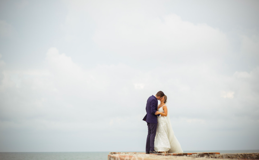 Glamorous Destination Wedding In Cartagena Colombia