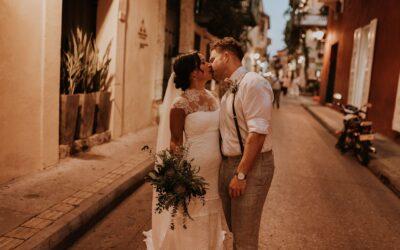 Enchanting Old Havana Vibe, Destination Wedding In Cartagena, Colombia